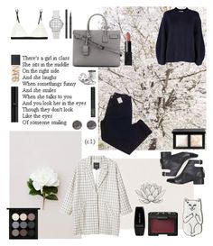 """""""XIX"""" by angie-5soslm ❤ liked on Polyvore featuring Base Range, Kenzie, Monki, 3.1 Phillip Lim, Yves Saint Laurent, Topshop, Karen Millen, Urban Outfitters, Giorgio Armani and NARS Cosmetics"""