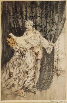 "Louis Icart (French, 1888-1950), ""Casanova"" | Flickr - Photo Sharing!"
