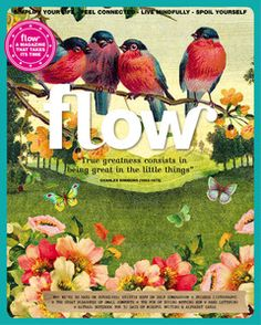 Technically not a book... Flow magazine!