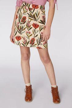 Sugar Glider Skirt. Online price $68.00. Skirt in Black, Cream, Neutral, White Princess Highway, Sea Dress, Garden Dress, Cat Dresses, Gliders, Fall Trends, Skort, Vintage Looks, Online Price