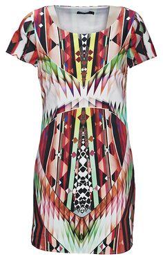 Dress from Portmans. #kaleidoscope is trending at Westfield New Zealand.