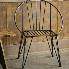 Wrought iron chair                                                                                                                                                                                 More