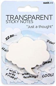 transparent sticky notes…speech bubbles & hearts
