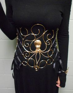 Octopus Corset by BronzeSmith on Etsy