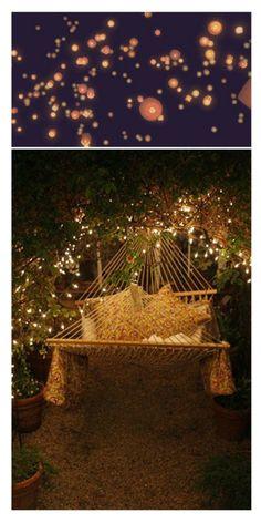 nighttime hammock