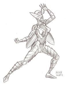 Rochelle sketch by Richard Meyer