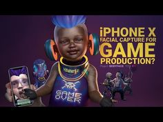 Test using the iPhone X depth camera for facial animation capture along with the Xsens full body motion capture suit and a ghetto DIY moCap helmet! Motion Capture, Game Character, Facial, Iphone, Games, Vr, Youtube, Movie Posters, Characters