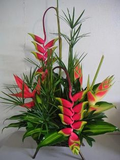 Puerto Rico Flower Shop -Send tropical flowers to Puerto Rico! Picture Arrangements, Church Flower Arrangements, Church Flowers, Beautiful Flower Arrangements, Flower Centerpieces, Flower Decorations, Beautiful Flowers, Deco Floral, Arte Floral