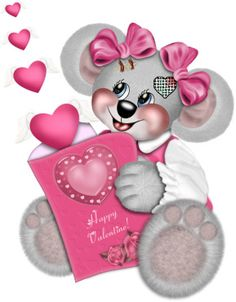 HAPPY VALENTINE CREDDY BEAR