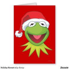 The muppets - Día de fiesta Kermit 2 Tarjeta De Felicitación. Regalos, Gifts. Producto disponible en tienda Zazzle. Product available in Zazzle store. Link to product: http://www.zazzle.com/dia_de_fiesta_kermit_2_tarjeta_de_felicitacion-137583451110346715?lang=es&design.areas=[card_5x7_outside_print_front]&CMPN=shareicon&social=true&rf=238167879144476949 #tarjeta #greeting #card