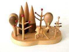 wood sculpture by pipapiep, via Flickr
