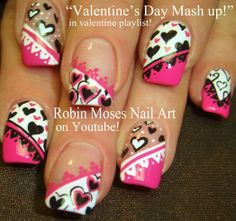 Valentine Moses-Mash by robinmoses from Nail Art Gallery