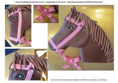 Silvia's Tortenträume: Pferdekopf-Kuchen Tutorial - Seite 3 von 3 Kuchen Anleitung Cake Horse