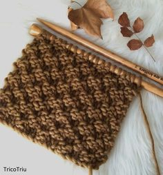 Needles: 15 mm Yarn: Chunky wool (Love wool by Katia or The Wool by We are knitters) C Chunky Wool, Winter Sale, Knitting Stitches, Knitting Projects, Animal Print Rug, Knitting Patterns, Knit Crochet, Handmade, Crafts
