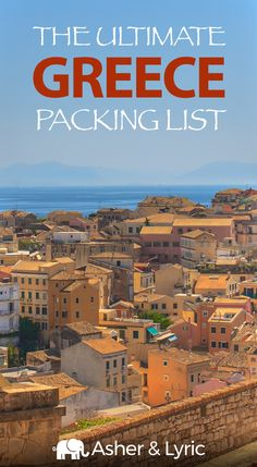 """What should I bring to Greece?!"" Don't travel without reading this complete Greece packing list of all the things to bring & NOT to bring."
