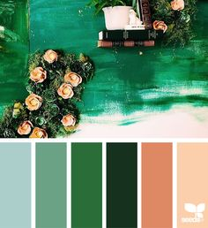 { color collect } image via: @handmadebysarakim