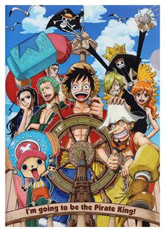 One Piece Anime Poster, available at 45x32cm. This poster is printed on matt coated 350 gram paper.