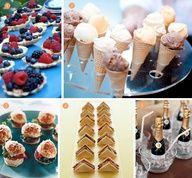 Minis #Mini #Wedding #Food #Tiny #Finger #Foods #Hors #Dourves #Champagne #Sandwich #Burgers #Sliders #Ice #Cream #Tarts