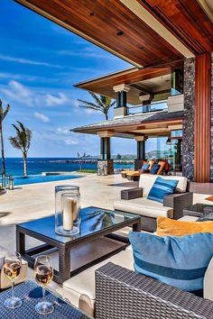 Luxeware — hyper-caine:  Kapalua Beachfront Residence | © |...