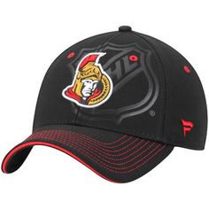 Ottawa Senators Shield Flex Hat - Black 3502626c995