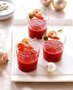 Bloody Mary Soup Shots  epicurious.com/recipes/food/views/Bloody-Mary-Soup-Shots-with-Shrimp