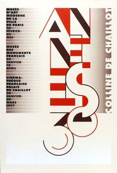 Les années 30 Deux expositions et un film sur les années 30, 1997