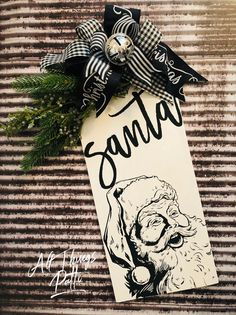 Christmas Wood Crafts, Farmhouse Christmas Decor, Christmas Signs, Felt Christmas, Country Christmas, Christmas Decorations To Make, Christmas Projects, Winter Christmas, Christmas Ornaments
