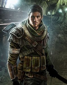 Metro 2033 - Andrej portrait by Enkidi on DeviantArt