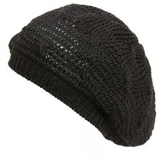 f0a004bec4f Women s Hinge Knit Beret ( 29) ❤ liked on Polyvore featuring accessories