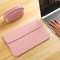 New Matte Laptop Bag for Macbook Air 13 12 Pro 13 Case Sleeve Women Men Waterproof Bag for Mac book Touchbar 13 15 Case Cover