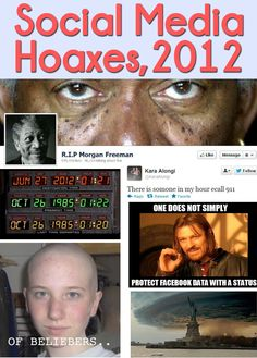 It's crazy what some people will fall for!  We take a look back at this year's biggest social media hoaxes.