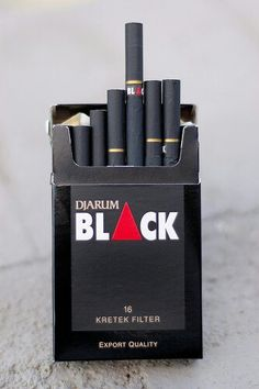 Djarum Blacks I used to smoke them in high school the paper had this bubble gum flavor to it had to drive 2 cities away no one sells them anymore
