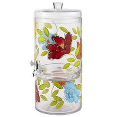 Brittany Beverage Dispenser.  I want this so I can fill it with a pretty pink Sangria, place it on my kitchen counter so everyone can see it and serve it to my friends.