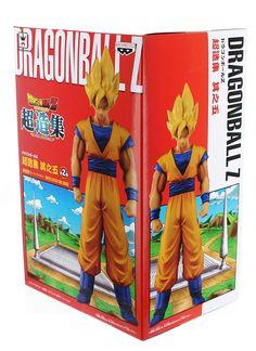"Dragon Ball Z 5.9"" Chozousyu Collectible Figure: Super Saiyan Son Goku"