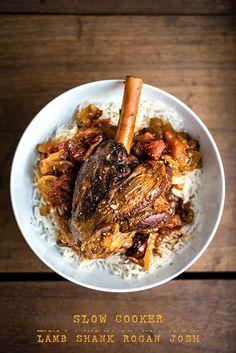 Slow Cooker Lamb Shank Rogan Josh   supergolden bakes Lamb Recipes, Curry Recipes, Meat Recipes, Cooker Recipes, Indian Food Recipes, Savoury Recipes, Turkish Recipes, Romanian Recipes, Scottish Recipes