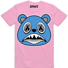4be7ab0657b UNC BAWS Light Pink Sneaker Tees Shirt