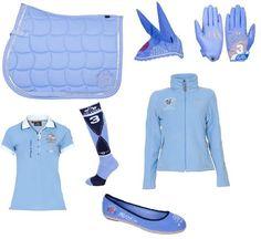 De baby blauwe set van HV Polo