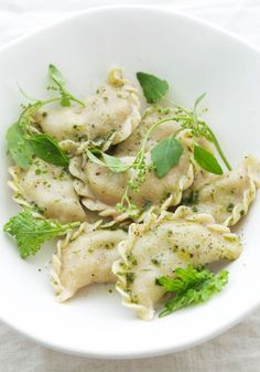 Make this Spring Vegetable Ravioli for dinner.