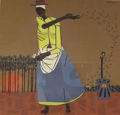 Today I looked at one of my favorite books - a collection of paintings by Robert Gwathmey. African American Artist, American Artists, Social Realism Art, Chief Seattle, Black Art Painting, Artwork Images, Traditional Paintings, Art History, Folk Art