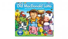 A fun, farm-themed lotto game for toddlers. Shop now on Orchard Toys' official site. Old MacDonald Lotto is an early learning matching game, perfect for young Lotto Games, Orchard Toys, Toddler Christmas, Christmas Ideas, Toy 2, Games For Toddlers, Farm Yard, Matching Games, Learning Resources