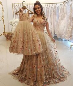 Spaghetti Strap A Line Floral Embroidery Prom Dresses Long Formal Party Dress Formal Dresses Uk, Floral Prom Dresses, Best Prom Dresses, Mermaid Prom Dresses, Cheap Prom Dresses, Evening Dresses, Girls Dresses, Flower Girl Dresses, Mother Daughter Dresses Matching