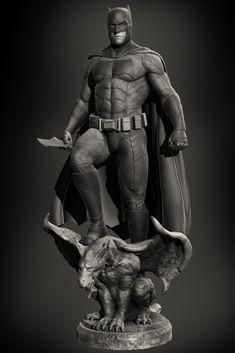 Batman v Superman : Batfleck, Marthin Agusta on ArtStation at https://www.artstation.com/artwork/rW83J