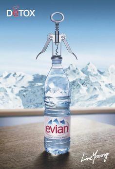 evian water advertising - Buscar con Google