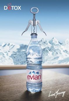 evian water advertising - Buscar con Google