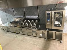 Commercial Kitchen Design, Commercial Kitchen Equipment, Walk In Freezer, Combi Oven, Kitchen Stove, Restaurant Equipment, Oven Range, Banquette, Gas Stove