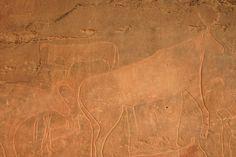 Gravure rupestre 4 Naama Province, Tiout