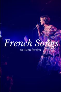 I updated the playlist with few more additional songs. http://www.talkinfrench.com/french-music/ Enjoy and share.