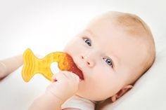 CaaOcho Baby Natural Rubber Teether