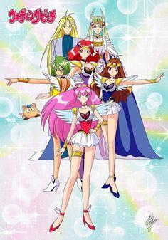 Old Anime, Manga Anime, Wedding Peach, Anime Toys, Manga Pages, Pretty Cure, Girl Wallpaper, Magical Girl, Shoujo