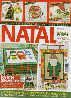 Revista Pratique Arte 6 Natal I - Jozinha Patch - Álbumes web de Picasa